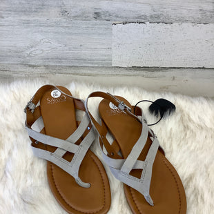Primary Photo - BRAND: FRANCO SARTO STYLE: SANDALS FLAT COLOR: GREY SIZE: 10 SKU: 153-153173-1315