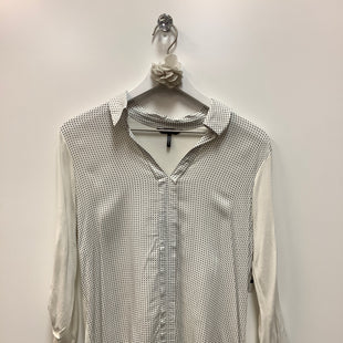 Primary Photo - BRAND: DAISY FUENTES STYLE: TOP LONG SLEEVE COLOR: WHITE BLACK SIZE: S SKU: 153-153173-6044