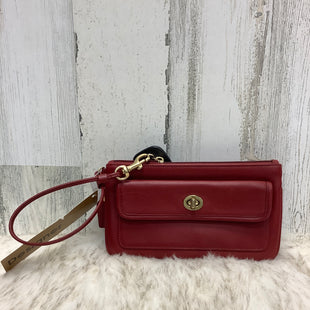 Primary Photo - BRAND: COACH STYLE: WRISTLET COLOR: RED SKU: 153-153131-16734