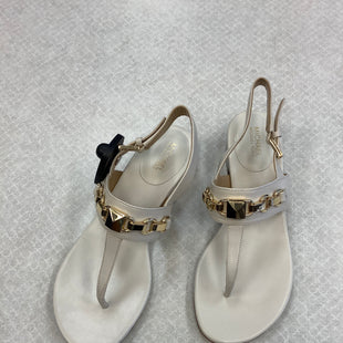 Primary Photo - BRAND: MICHAEL KORS STYLE: SANDALS LOW COLOR: IVORY SIZE: 6 SKU: 153-153111-35721
