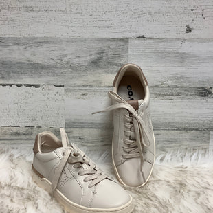 Primary Photo - BRAND: COACH STYLE: SHOES ATHLETIC COLOR: CREAM SIZE: 6 SKU: 153-15399-17363