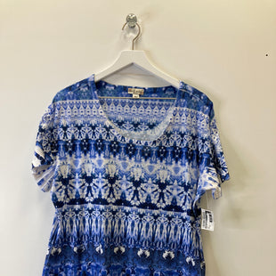 Primary Photo - BRAND: WORLD UNITY STYLE: TOP SHORT SLEEVE COLOR: BLUE SIZE: 2X SKU: 153-153174-314