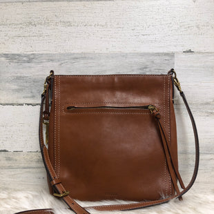 Primary Photo - BRAND: FOSSIL STYLE: HANDBAG LEATHER COLOR: BROWN SIZE: MEDIUM SKU: 153-153118-4173