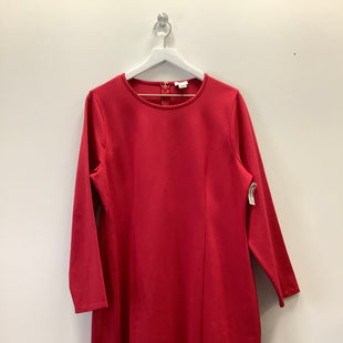 Primary Photo - BRAND: J CREW O STYLE: DRESS SHORT LONG SLEEVE COLOR: RED SIZE: 1X SKU: 153-153173-12059