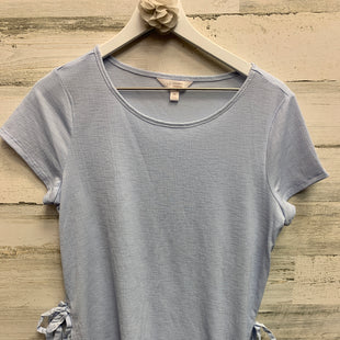 Primary Photo - BRAND: LAUREN CONRAD STYLE: TOP SHORT SLEEVE COLOR: BLUE SIZE: M SKU: 153-153111-33118