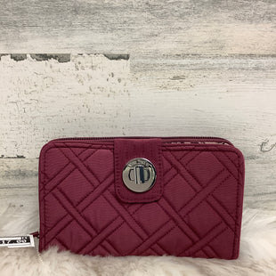Primary Photo - BRAND: VERA BRADLEY CLASSIC STYLE: WALLET COLOR: BURGUNDY SIZE: LARGE SKU: 153-153111-33546