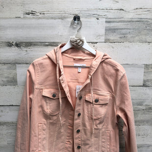 Primary Photo - BRAND: ANN TAYLOR LOFT STYLE: JACKET OUTDOOR COLOR: PEACH SIZE: M SKU: 153-15320-79556