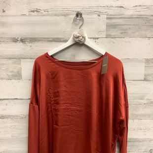 Primary Photo - BRAND: CHICOS STYLE: TOP LONG SLEEVE COLOR: RUST SIZE: XL SKU: 153-15399-17297