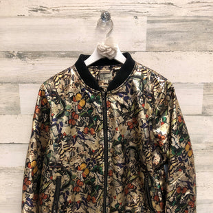 Primary Photo - BRAND: JOU JOU STYLE: JACKET OUTDOOR COLOR: GOLD SIZE: L SKU: 153-15320-79533