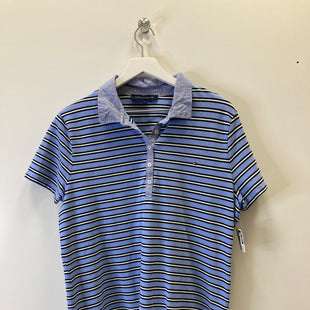 Primary Photo - BRAND: TOMMY HILFIGER STYLE: TOP SHORT SLEEVE COLOR: BLUE SIZE: 1X SKU: 153-15399-15346
