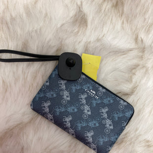 Primary Photo - BRAND: COACH STYLE: WRISTLET COLOR: BLUE SKU: 153-153169-5098