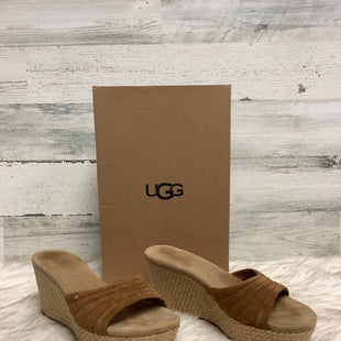 Primary Photo - BRAND: UGG STYLE: SANDALS HIGH COLOR: BROWN SIZE: 7 SKU: 153-153173-3797