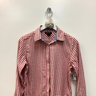 Primary Photo - BRAND: LANDS END STYLE: TOP LONG SLEEVE COLOR: RED WHITE SIZE: S SKU: 153-153154-493