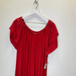 Primary Photo - BRAND: TERRA & SKY STYLE: TOP SHORT SLEEVE COLOR: RED SIZE: 3X SKU: 153-15320-78058