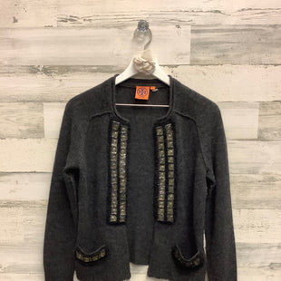 Primary Photo - BRAND: TORY BURCH STYLE: SWEATER CARDIGAN HEAVYWEIGHT COLOR: GREY SIZE: S SKU: 153-153111-33502