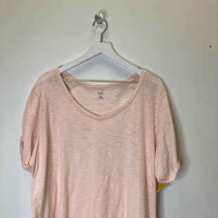 Primary Photo - BRAND: ANA STYLE: TOP SHORT SLEEVE COLOR: PEACH SIZE: 1X SKU: 153-153174-699