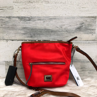 Primary Photo - BRAND: DOONEY AND BOURKE STYLE: HANDBAG DESIGNER COLOR: RED SIZE: SMALL SKU: 153-153111-37206