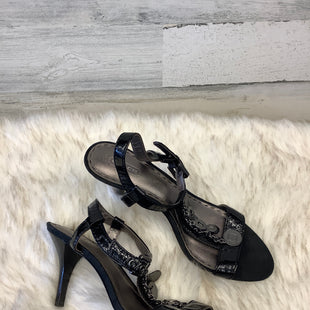 Primary Photo - BRAND: COACH STYLE: SANDALS HIGH COLOR: BLACK SIZE: 9.5 SKU: 153-153111-32918