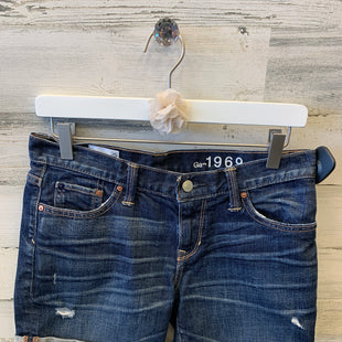 Primary Photo - BRAND: GAP O STYLE: SHORTS COLOR: DENIM SIZE: 2 SKU: 153-153111-32841