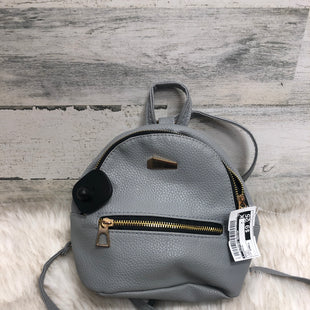 Primary Photo - BRAND:    CLOTHES MENTOR STYLE: BACKPACK COLOR: STEEL SIZE: SMALL SKU: 153-153154-560