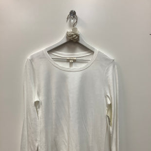 Primary Photo - BRAND: STYLE AND COMPANY STYLE: TOP LONG SLEEVE COLOR: WHITE SIZE: S SKU: 153-153173-6073