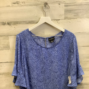 Primary Photo - BRAND: LIZ CLAIBORNE STYLE: TOP SHORT SLEEVE COLOR: BLUE SIZE: 2X SKU: 153-153111-41179