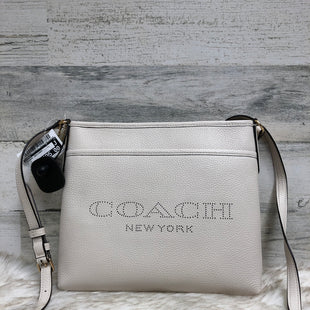 Primary Photo - BRAND: COACH STYLE: HANDBAG DESIGNER COLOR: WHITE SIZE: MEDIUM OTHER INFO: 91167 SKU: 153-15320-77805