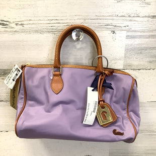 Primary Photo - BRAND: DOONEY AND BOURKE STYLE: HANDBAG DESIGNER COLOR: LAVENDER SIZE: MEDIUM SKU: 153-153173-12206