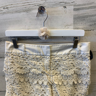 Primary Photo - BRAND: ANN TAYLOR LOFT STYLE: SHORTS COLOR: CREAM SIZE: 2 SKU: 153-153173-1268