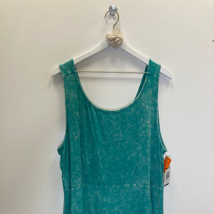 Primary Photo - BRAND: TORRID STYLE: TOP SLEEVELESS COLOR: AQUA SIZE: 4X SKU: 153-153173-12827