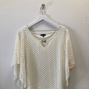 Primary Photo - BRAND: OLIVIA BLU STYLE: TOP SHORT SLEEVE COLOR: CREAMSIZE: 2X SKU: 153-153111-41164