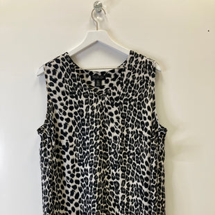 Primary Photo - BRAND: RACHEL ZOE STYLE: TOP SLEEVELESS COLOR: ANIMAL PRINT SIZE: 1X SKU: 153-153111-35503