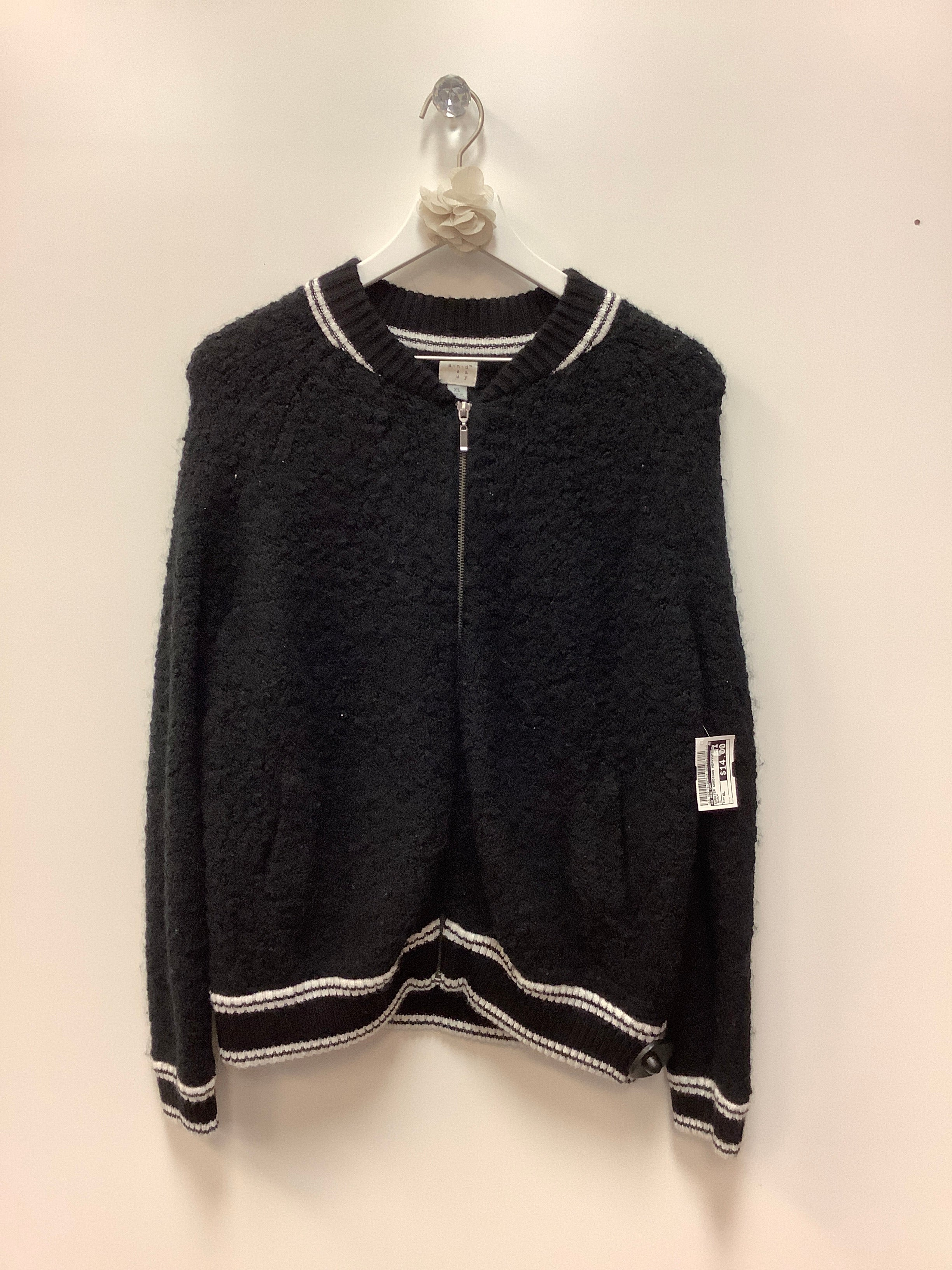 Primary Photo - BRAND: A NEW DAY <BR>STYLE: SWEATER CARDIGAN HEAVYWEIGHT <BR>COLOR: BLACK <BR>SIZE: XL <BR>SKU: 153-153173-3673