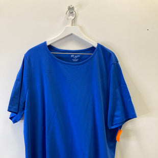 Primary Photo - BRAND:    CLOTHES MENTOR STYLE: TOP SHORT SLEEVE BASIC COLOR: ROYAL BLUE SIZE: 3X OTHER INFO: TOG SHOP - SKU: 153-15320-83758