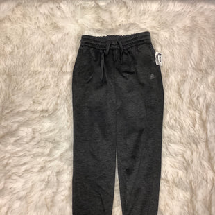 Primary Photo - BRAND: ADIDAS STYLE: ATHLETIC PANTS COLOR: CHARCOAL SIZE: S SKU: 153-153154-677