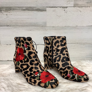 Primary Photo - BRAND: KATE SPADE STYLE: BOOTS ANKLE COLOR: ANIMAL PRINT SIZE: 9 SKU: 153-153173-1226