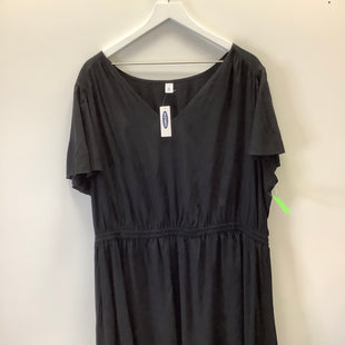 Primary Photo - BRAND: OLD NAVY STYLE: DRESS SHORT SHORT SLEEVE COLOR: BLACK SIZE: 3X SKU: 153-15320-86842