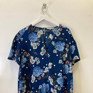 Primary Photo - BRAND: DANIEL RAINN STYLE: TOP SHORT SLEEVE COLOR: BLUE SIZE: 2X SKU: 153-153111-35372