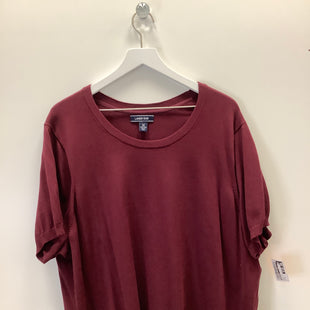 Primary Photo - BRAND: LANDS END STYLE: TOP SHORT SLEEVE COLOR: RED SIZE: 3X SKU: 153-15320-83555