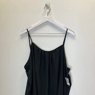 Primary Photo - BRAND: TIME AND TRU STYLE: TANK TOP COLOR: BLACK SIZE: 2X SKU: 153-15320-81829