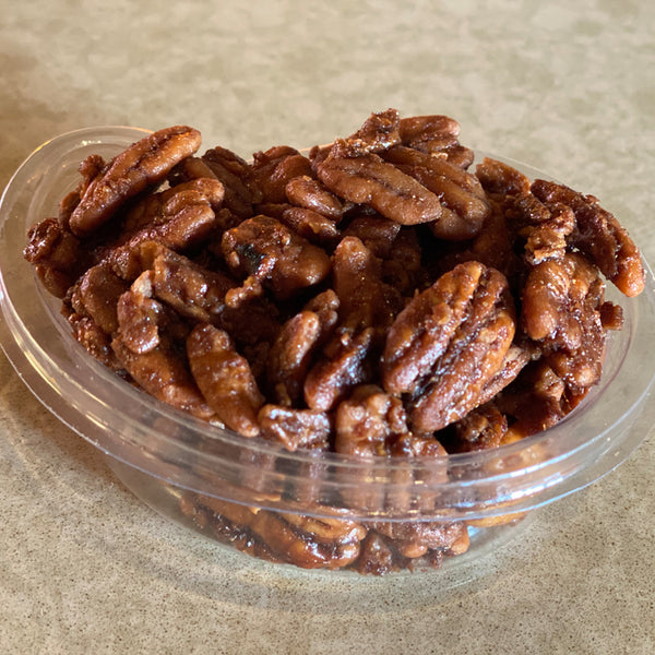(3.5 OZ) CRUNCHY HONEY PECANS   蜂蜜山核桃