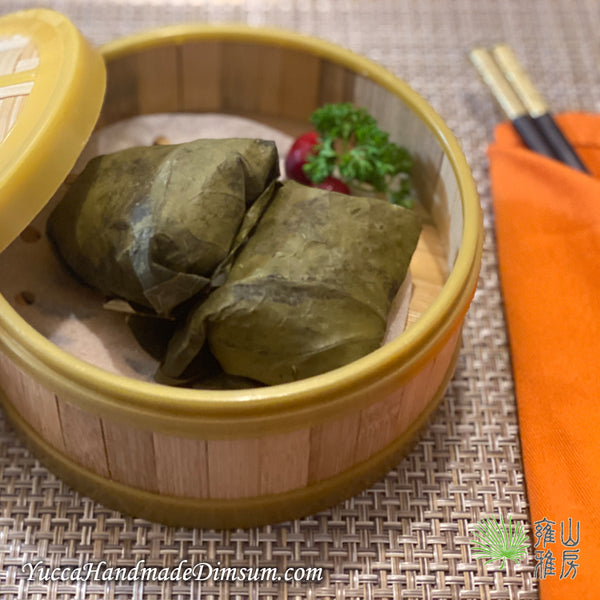 LOTUS LEAF CHICKEN  糯米雞