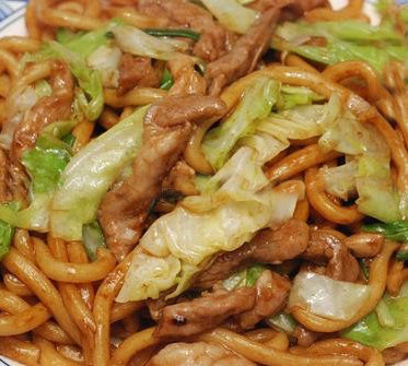 (2 LB) SHANGHAI FRIED NOODLES  上海粗炒面