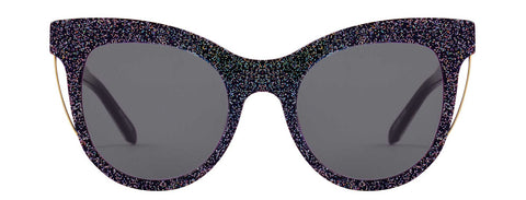 Sloane glitter sunglasses by Vow London