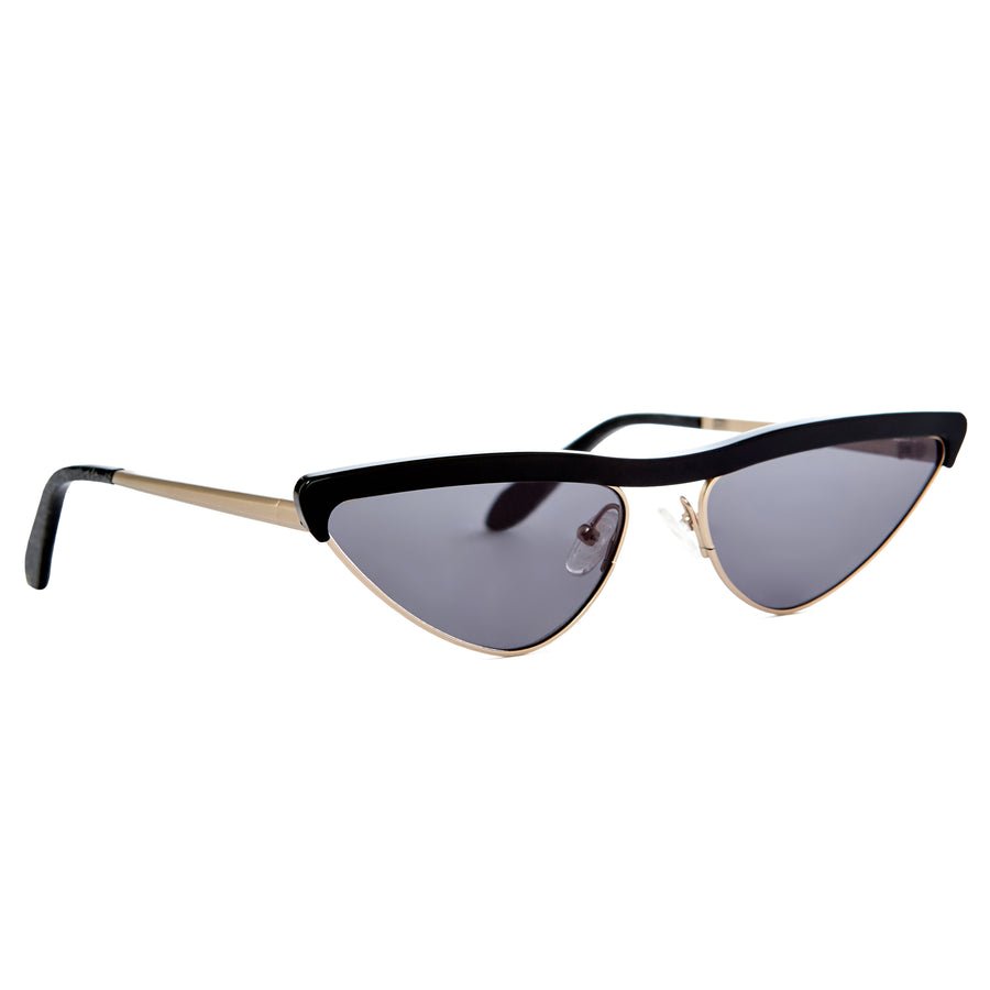Aster Sunglasses | Black Cat Eye Sunglasses