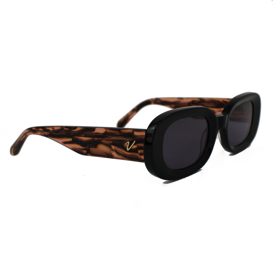 Laurel | Black + Tiger Tort | Recycled