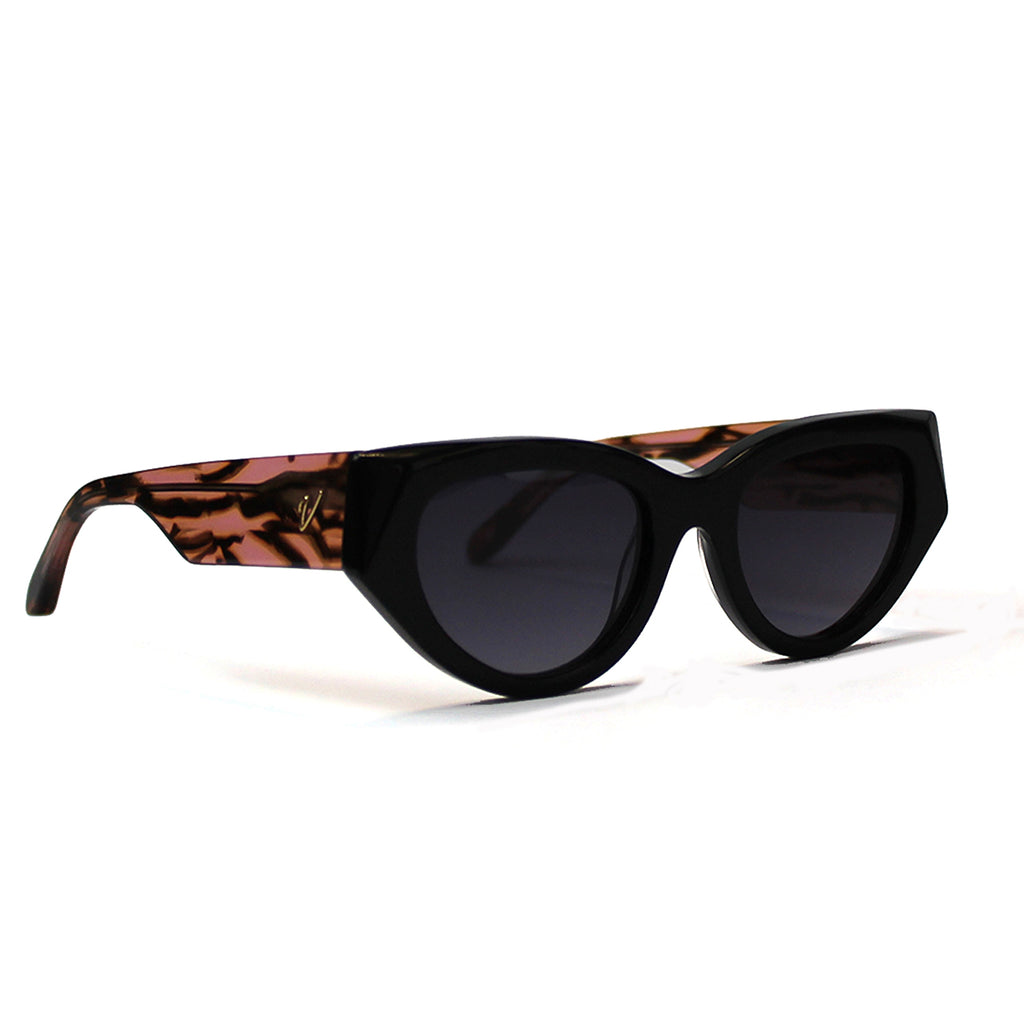 Peonie | Black + Tiger Tort | Recycled