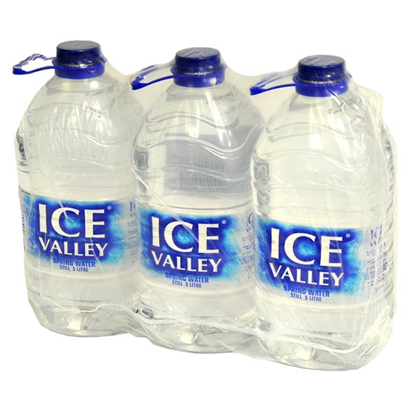 Ice Valley Spring Water Still 3 x 5 Litre