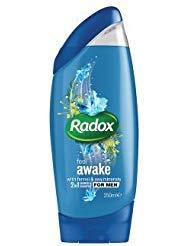 RADOX FEEL AWAKE SH GEL/SHAMPOO FOR MEN 250ML