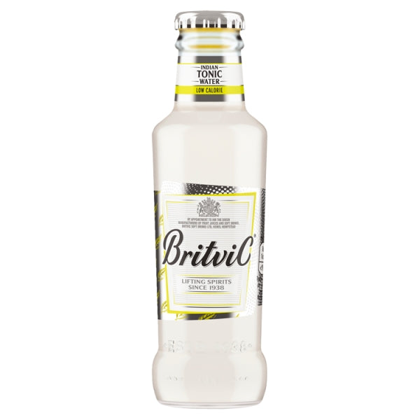 Britvic Indian Tonic Water Low Calorie 125ml X 24